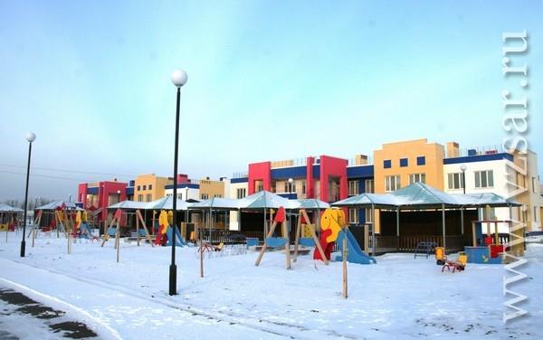 Детский сад в п. Юбилейный